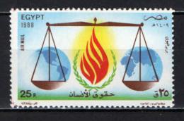 EGITTO - 1988 - UN Day - MNH - Posta Aerea
