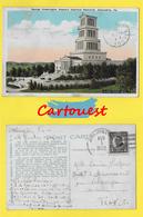 CPA U.S.A. VIRGINIA  ☺♦♦  GEORGE WASHINGTON MASONIC NATIONAL MEMORIAL ALEXANDRIA    ֎  1924 2c Harding, Rotary - Alexandria