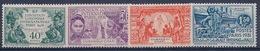 OUBANGUI CHARI - 84/87  EXPOSITION 1931 COMPLETE NEUF* COTE 30 EUR - Unused Stamps