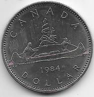 *canada  1 Dollar 1984 Km 120.1 Unc - Canada