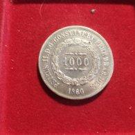Brasile 1000 Reis 1860 - Brasile