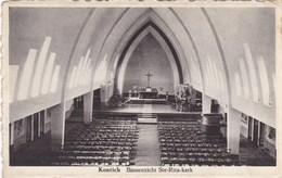 Kontich Binnenzicht Ste Rita Kerk (pk66031) - Kontich