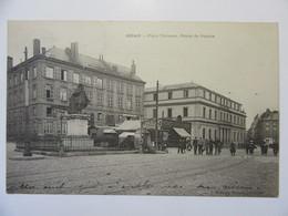 Cpa, Carte Primaire, Trés Belle Vue Animée, Sedan, Place Turenne, Palais De Justice - Sedan