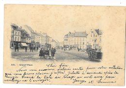 ATH  ( M 2602 )  Animation Grand'Place Et Vue Sur Le Rue De Tournai (actuelle Rue De France) - Ath