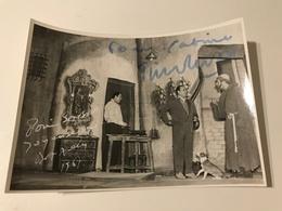 Photo Dédicacée Par Tino Rossi (opérette) - Signed Photographs