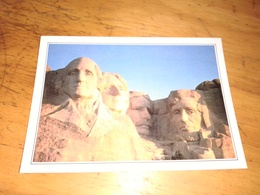 Mount Rushmore Les Tetes De Quatre Presidents - Mount Rushmore