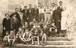 21 - GOMMEVILLE Ou MUSSY - Carte Photo Du Front Populaire Ou Scoutisme - Francia