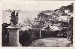 13.  MARSEILLE. LA CORNICHHE ET LES ILES VUES DE LA RESERVE. ANNEE  1942 + TEXTE - Endoume, Roucas, Corniche, Playas