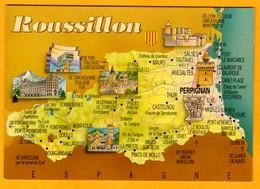 Roussillon   Edt Arboux   N°  96 Pp - Maps