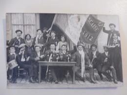 18 - CHER - LURY SUR ARNON - Carte Photo De Conscrits De Lury-Chéry 1912 - Autres Communes