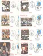 1982 - FDC (005860) Giro Di 8 BUSTE ITALIA CAMPIONE DEL MONDO - 6. 1946-.. Republic