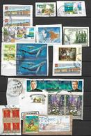 Russia -24 Postal Stamps Of Russia Used - Oblitérés