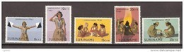 Suriname 371-375 MNH ; Padvinderij, Scouting, Scoutisme, Scoutismo Jamborette 1961 NOW SURINAME SALE - Surinam ... - 1975