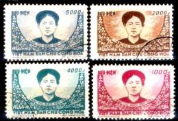 169  North Vietnam Yv 108-11 - MNH - 25,75 (90) - Viêt-Nam
