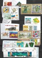 Russia -25 Postal Stamps Of Russia Used - Oblitérés
