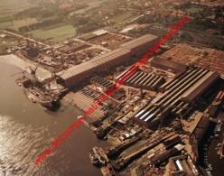 Temse - Boelwerf In September 1970 - Photo 15x23cm - Luchtfoto - Scheepswerf Shipyard - Luoghi