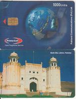 PAKISTAN - Shahi Qila/Lahore, Pakland Comm Telecard 1000 Units, Tirage 5000, Sample(no CN) - Pakistan