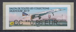 Frankreich 2019 ATM Flugzeug Concorde Beim Start ** Wert CC 0,86 EUR  - Non Classificati