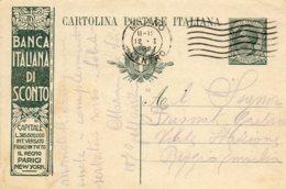ITALIE.1921.ENTIER POSTAL PUB. THEMES: CROIX-ROUGE. METIERS. - Croix-Rouge