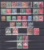 Duitse Rijk Kleine Verzameling Gestempeld, Zeer Mooi Lot 4176 - Timbres
