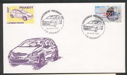 Sochaux - Lancement De La Peugeot 307 Le 25 Avril 2001 - Automobili