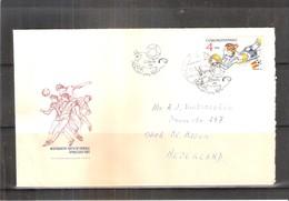 Football - Coupe Du Monde 1982 - Lettre De Tchécoslovaquie Vers La Hollande (à Voir) - 1982 – Espagne