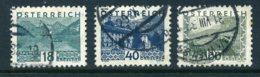 Mi. 532+538+542 Gestempelt - 1918-1945 1st Republic