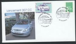 Sochaux - Lancement De La Peugeot 307 CC Le 11 Septembre 2003 - Automobili