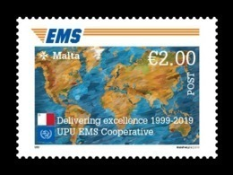 Malta 2019 Mih. 2081 EMS Postal Service MNH ** - Malta