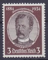 Deutsches Reich DR Mi. 540 ** 3 Pfennig Lüderitz 1934 Postfrisch (11061 - Duitsland