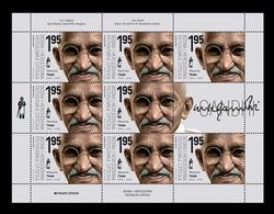 Bosnia And Herzegovina (Serbian) 2019 Mih. 812 Mahatma Gandhi (M/S) MNH ** - Bosnien-Herzegowina