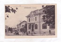 CPSM.  14 X 9  -   ANNEMASSE  - La Poste - Annemasse