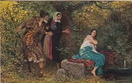 AK Die Heilige Schrift - Susanne Im Bade - Daniel 1, 19 - Rob. Leinweber  (45720) - Christendom