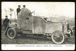 Dixmude Auto Mitrailleuse Belge Près De 347 Meurisse - Diksmuide