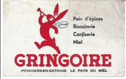 Buvard Ancien GRINGOIRE -pithiviers-en-gatinais - Cake & Candy