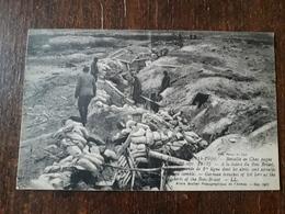 L26/87 Bataille De Champagne - Guerre 1914-1916 - Tranchée Allemande De 1ère Ligne à La Lisière Du BOIS-BRICOT - War 1914-18