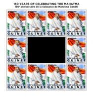 Z08 GU190429c GUINEA (Guinee) 2019 Mahatma Gandhi MNH ** Postfrisch - Guinea (1958-...)
