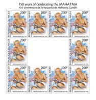Z08 NIG190518c NIGER 2019 Mahatma Gandhi MNH ** Postfrisch - Niger (1960-...)