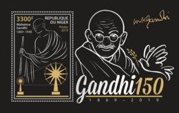 Z08 NIG190518b NIGER 2019 Mahatma Gandhi MNH ** Postfrisch - Niger (1960-...)