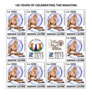 Z08 SRL191016c SIERRA LEONE 2019 Mahatma Gandhi MNH ** Postfrisch - Sierra Leone (1961-...)