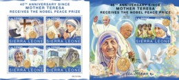 Z08 SRL191106ab SIERRA LEONE 2019 Mother Teresa MNH ** Postfrisch - Sierra Leone (1961-...)