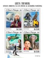 Z08 ST190714a Sao Tome And Principe 2019 Greta Thunberg MNH ** Postfrisch - São Tomé Und Príncipe