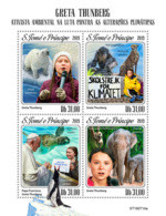 Z08 ST190714a Sao Tome And Principe 2019 Greta Thunberg MNH ** Postfrisch - Sao Tome And Principe