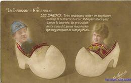 TH - La Chaussure Nationale - Les Sabots - 1918 - Humorísticas
