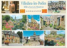 50 - VILLEDIEU-LES-POELES - Ville D'art Et D'histoire - Multi Vues - 8 Vues - Cpm - Vierge - - Villedieu