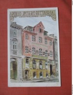 Apollo Osters Restaurant   Ref 3787 - Postcards