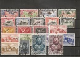 Espagne ( Lot De Timbres De PA Divers Différents Oblitérés) - Airmail