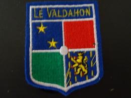Blason écusson Tissu Valdahon (Doubs) - Escudos En Tela