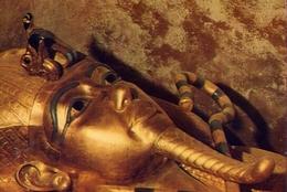 Thebes - Tomb Of Tut Ankh Mun King's Mummy In His Cual Third Coffin  - Formato Grande Non Viaggiata – E 7 - Musei