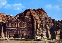 View Of Law Court At Petra - Formato Grande Non Viaggiata – E 7 - Cartoline